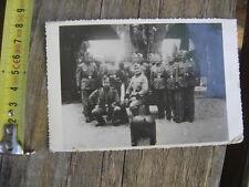 PHOTO ORIGINALE WW2 Soldats Allemands ? endroit fort 2 a determiner 39 / 45