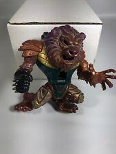 Vintage Mighty Max Conqueror Lion Warrior 1994 action figure Loose