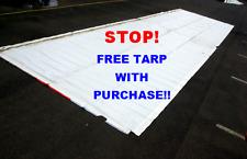 6m x  3m TARP THICK PVC VINYL MULTI-USE EX BILLBOARD SKIN