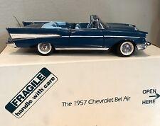 New Listing1/24 Danbury Mint 1957 Chevrolet Bel Air Convertible