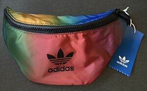 Paolina Russo Waist Pack Multi color rainbow black new with tag Adidas Originals