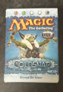 Magic the Gathering MTG Coldsnap Beyond the Grave Theme Deck Complete Rare