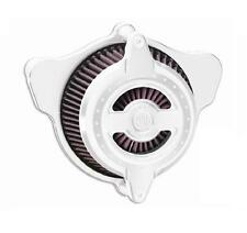 RSD  0206-2103-CH  Blunt Radial Air Cleaner, Chrome Fits Harley XL Sportster X7