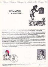 Document Philatélique Timbre 1er Jour : 15/10/ 1983 - Hommage à Jean Effel