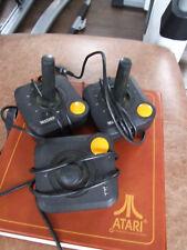 ATARI 2600 5200 7800 D 9 PIN Controller JOYSTICK VINTAGE ORIGINALE gemstick Retrò