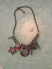 Betsey Johnson statement Charm necklace
