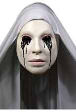 """American Horror Story"" Asylum Nun Licensed Frontal Latex Mask With Fabric Drape"