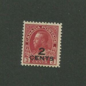 1926 Canada Envoi Tampon #140 Excellent État Légèrement à Charnières F/VF
