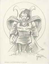 Doctor Strange Drawing - Frank Brunner - Original Art.