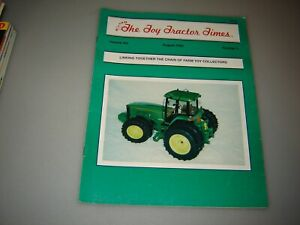 The Toy Tractor Times Complete Year 1992- 1997 Farm Collectors Lot 6
