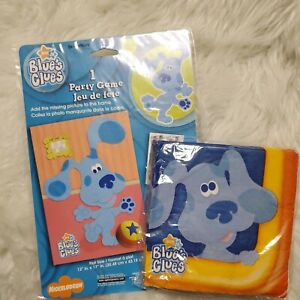 BLUE'S CLUES Room PARTY GAME POSTER Napkins Birthday Decorations Plastic Nick Jr