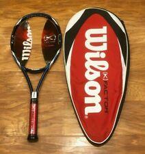 Wilson K Factor Fury 100 TENNIS Racket 4 1/2 Pro Staff Six-One 6.1 tour blade 98