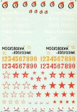 Microscale Décalques 1/35 Soviétique Armure Signalisations #Ss13007