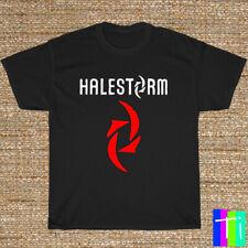 New T-Shirt Halestorm Rock Band Logo Black/Grey/White/Navy Shirt S-3XL