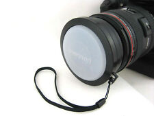 Mennon 55mm White Balance Lens Cap with mount for 55mm filter thread - UK SELLER