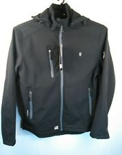 Little Donkey Andy Jacket Soft Shell Sz S Fleece lining Removable Hood Quick-Dry