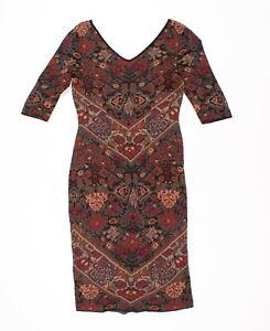 Peruvian Connection Pima Cotton Knit Dress Size S Small
