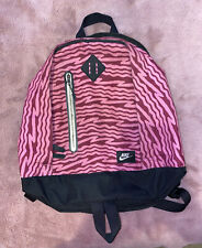 Nike Black & Pink Zebra Camouflage Rucksack Backpack. Gym Bag, School/Travel Bag