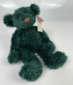 Russ Berrie Mistletoe Green Beanie Bear From The Past Teddy With Tags 212222
