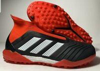 Adidas Predator Tango 18+ TF Men's Size 7.5 Turf Soccer Shoes DB2058 Red Black