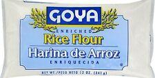 Goya Rice Flour, 12 Oz (Harina de Arroz)