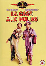 LA CAGE AUX FOLLES - DVD - REGION 2 UK