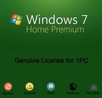 Windows 7 Home Premium 32/64 Bit Product Key Download Genuine