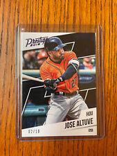 2018 Prestige JOSE ALTUVE PURPLE /10 Houston Astros Panini