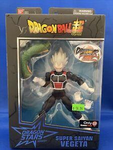 Gamestop Exclusive Dragonball Fighter Z Super Saiyan Vegeta Figure Shenron BAF