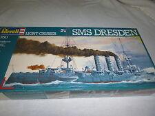 -1/350 Sms Dresden German Light Cruiser Wwi 1907 Ship Model Kit