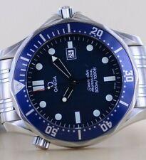 Omega Seamaster 300 Diver James Bond Edelstahl 41mm blue dial Quarz Ref 25418000