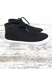 Native Mens Shoes Monaco Mid Black Size 6 Sneakers