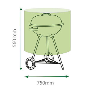 St Helens Home and Garden Water Resistant Medium Kettle BBQ Cover GH016