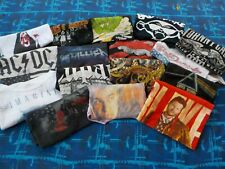 Rock & Roll, Country, Other Musical Artists T-Shirt Wholesale Lot.16 T-Shirts