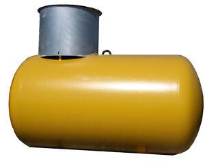 Flüssiggastank unterirdisch 1,2 tonnen 2700 liter inkl. Aufstellung und Prüfung