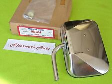 Universal Stainless Steel 6x9 SIDE MIRROR HEAD for 76-87 DODGE TRUCK, made USA