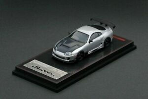 1:64 Toyota Supra JZA80 RZ -- Silver -- Ignition Model IG1861