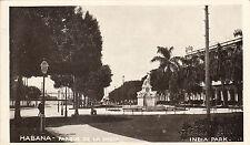 * CUBA - Habana - Parque de la India