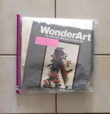 VTG Wonderart Stitchery Wall Hanging Picture Embroidery Kit Country Birds 5310