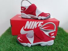 Nike Air Rift Ladies Trainers UK Size 3.5 Red/Grey