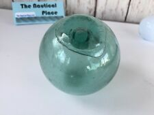 """3"""" Japanese Glass Fishing Float ~ No Netting ~ Authentic Old Vintage"""