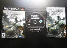 JEU Sony PLAYSTATION 2 PS2 : PANZER ELITE ACTION Fields Of Glory (COMPLET suivi)