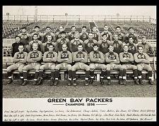1936 GB Packers - NFL Champions, 8x10 B&W Team Photo