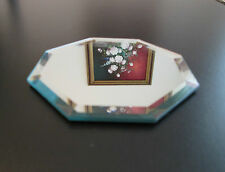 Beveled Mirror, 4 inch Octagon, Quality Glass, Coaster, Jewelry Display, Craft