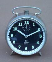 Réveil à clé VEDETTE REPETITION vintage ancien MARCHE alarm clock wake wrench #1