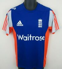 Adidas England Cricket Shirt 2014 ODI Jersey ECB Waitrose Size 36/38 SMALL S