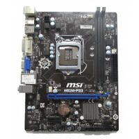 MSI H81M-P33 Micro ATX Motherboard LGA 1150 DDR3 I/O SHIELD INCLUDED