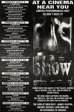 """10/7/93PGN26 THE CURE : THE SHOW AT A CINEMA NEAR YOU ADVERT 7X5"""""""