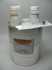 Professional grade Black V-mod gelcoat w/MEKP*Ideal for parts**with wax* 1Gal
