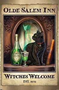 Lisa Parker - Absinthe Witches Welcome Poster